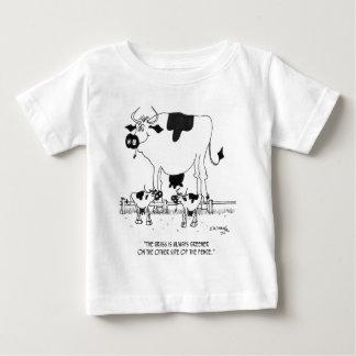 Camiseta Para Bebê Desenhos animados 3372 da vaca