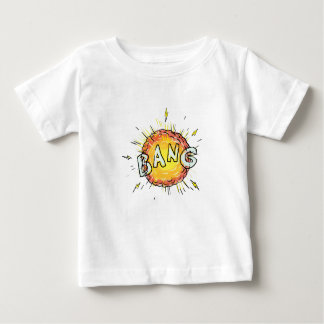 Camiseta Para Bebê Desenhos animados do golpe da explosão