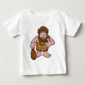 Camiseta Para Bebê Desenhos animados do homem das cavernas