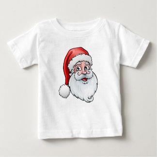 Camiseta Para Bebê Desenhos animados do Natal de Papai Noel