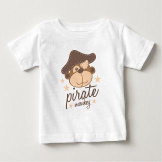 Camiseta Para Bebê Desenhos animados do pirata legal