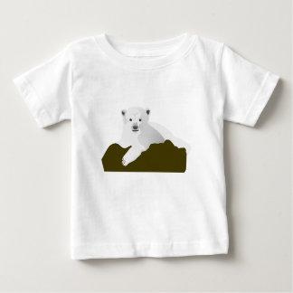 Camiseta Para Bebê Desenhos animados do urso polar