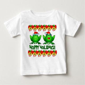 Camiseta Para Bebê Desenhos animados engraçados bonitos dos sapos