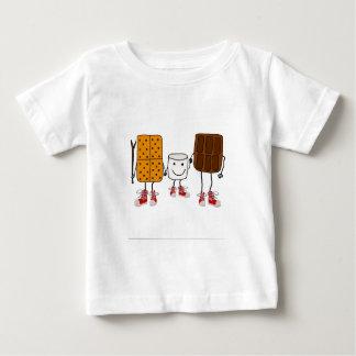 Camiseta Para Bebê Desenhos animados engraçados dos caráteres de
