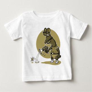 Camiseta Para Bebê desenhos animados estrangeiros estúpidos do