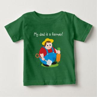 Camiseta Para Bebê Desenhos animados modernos bonitos de um