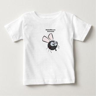 Camiseta Para Bebê Desenhos animados virados do mosquito