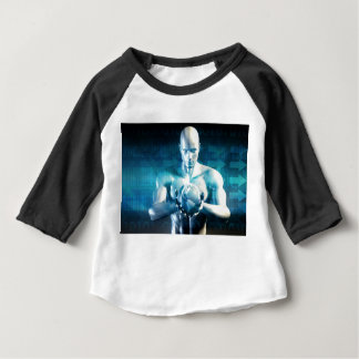 Camiseta Para Bebê Desenvolvimento do design de engenharia
