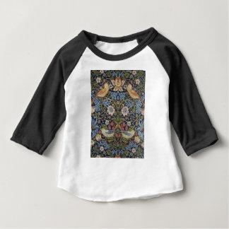 Camiseta Para Bebê Design 1883 do ladrão da morango de William Morris