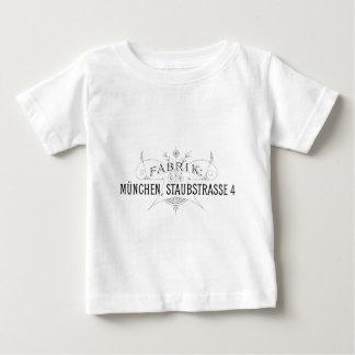 Camiseta Para Bebê design alemão da tipografia do vintage