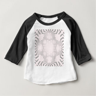 Camiseta Para Bebê Design branco macio surpreendente bonito simples