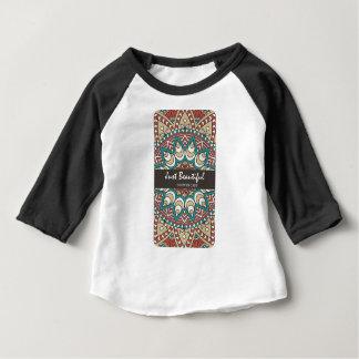 Camiseta Para Bebê Design colorido 10-01 de Idian da textura do
