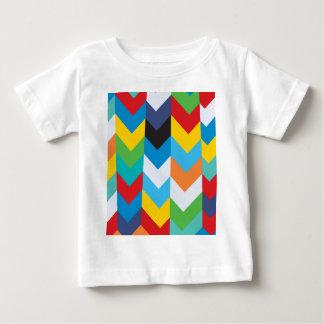 Camiseta Para Bebê Design colorido do sentido