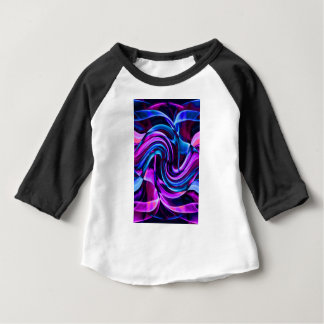 Camiseta Para Bebê Design da arte do fumo do reciclado