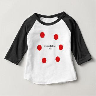 Camiseta Para Bebê Design da língua Latin (Lingua Latina)