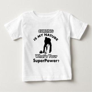 Camiseta Para Bebê design da onda