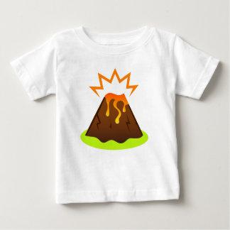 Camiseta Para Bebê Design da sala dos miúdos da lava da erupção
