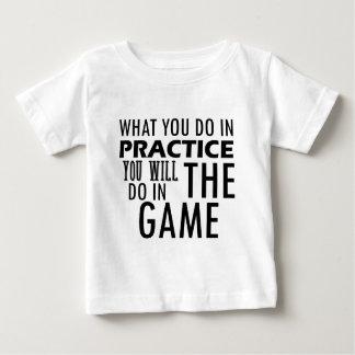 Camiseta Para Bebê design de jogo