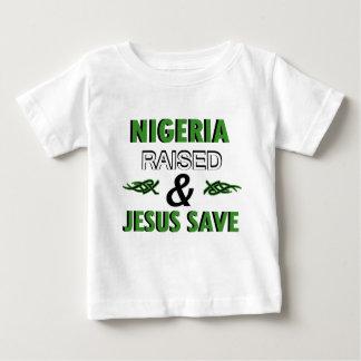 Camiseta Para Bebê Design de Nigéria
