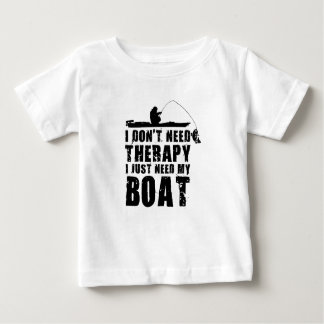 Camiseta Para Bebê design do barco bonito