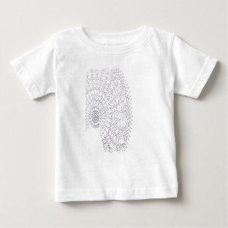 Camiseta Para Bebê Design do Crochet