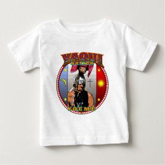 Camiseta Para Bebê Design do dançarino dos cervos de Yaqui Yeome