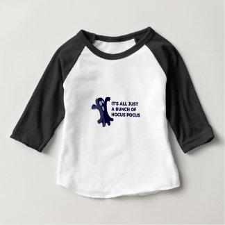 Camiseta Para Bebê Design do Dia das Bruxas da vaia do fantasma de