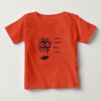 Camiseta Para Bebê Design do fluff no movimento