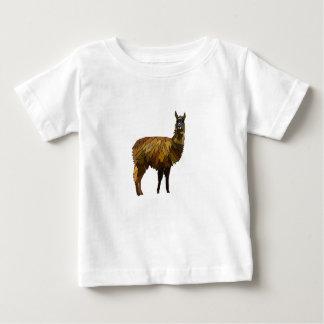 Camiseta Para Bebê Design do geo do lama