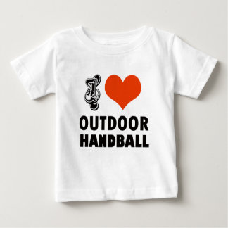 Camiseta Para Bebê Design do handball