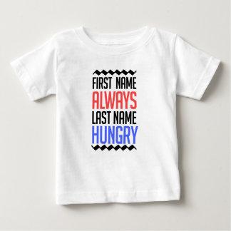 Camiseta Para Bebê design engraçado, do nome sobrenome sempre com