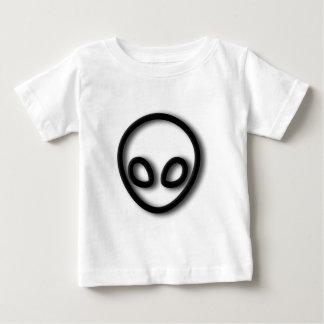 Camiseta Para Bebê Design estrangeiro das cinzas