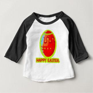 Camiseta Para Bebê design gráfico doce do felz pascoa