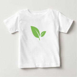 Camiseta Para Bebê Design gráfico verde verde da vida |