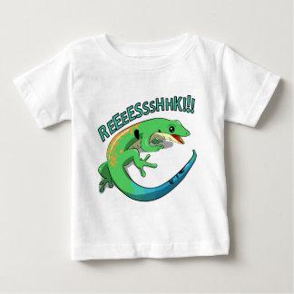 Camiseta Para Bebê Design gritando do macarronete do Doodle do