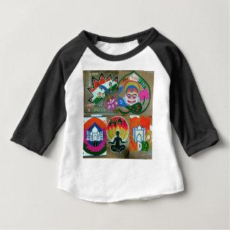 Camiseta Para Bebê Design indiano étnico