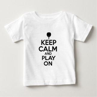 Camiseta Para Bebê Design legal do vetor dos esportes