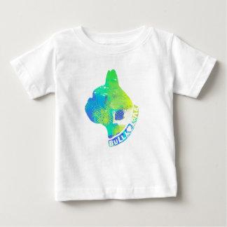 Camiseta Para Bebê Design legal unisex da aguarela dos amantes do cão