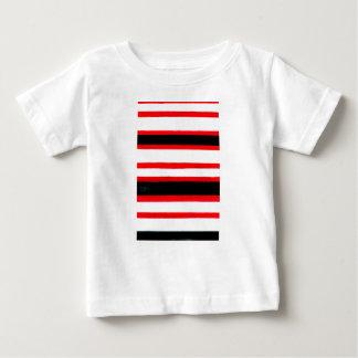Camiseta Para Bebê Design listrado da abstracção