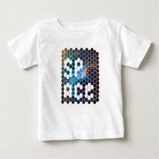 Camiseta Para Bebê Design moderno e futurista do viajante do espaço