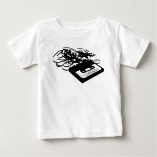 Camiseta Para Bebê design retro do anos 80 - fitas da cassete áudio