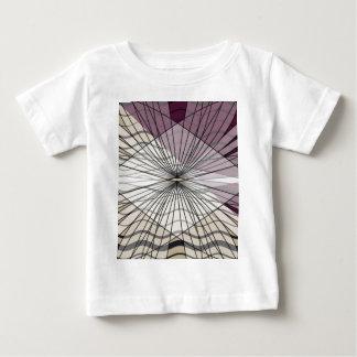 Camiseta Para Bebê design roxo bonito do teste padrão