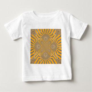 Camiseta Para Bebê Design simétrico surpreendente nervoso bonito do