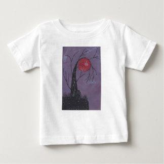 Camiseta Para Bebê Despertando a árvore