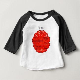 Camiseta Para Bebê Dessalinia - ano 1975