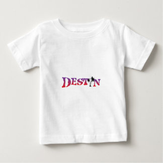 Camiseta Para Bebê Destin Florida.