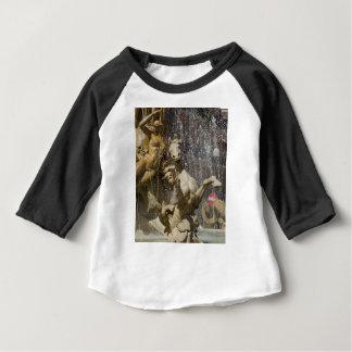 Camiseta Para Bebê Detalhe de d'Artemide de Fontana, Ortigia