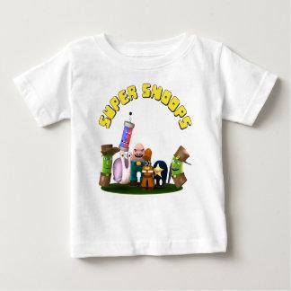 Camiseta Para Bebê Detetives super do Jr. das espiões