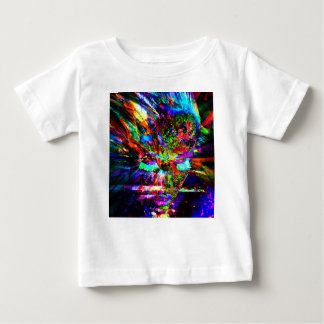 Camiseta Para Bebê Deusa abstrata