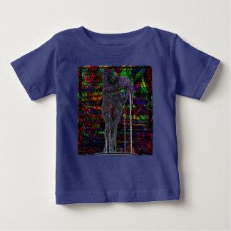 Camiseta Para Bebê Deusa abstrata do Aquário